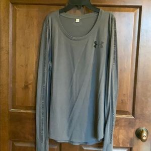 Grey Long Sleeved Under Armour
